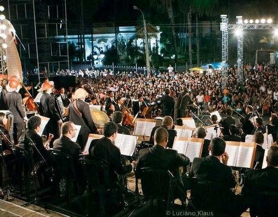 Orquestra Sinfônica de Teresina grava DVD da Cantata Gonzaguiana