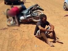 Acidente entre motos deixa um morto e outro ferido em São Miguel do Tapuio