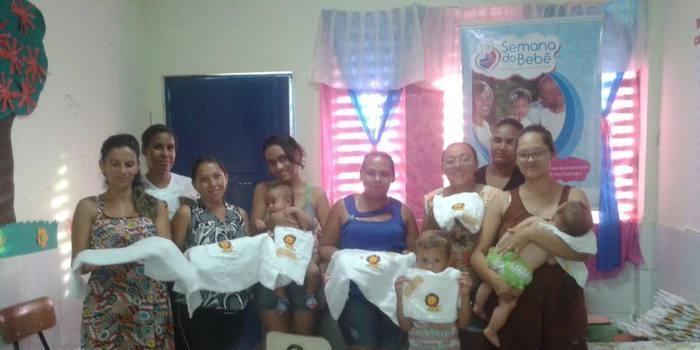 Terceiro e quarto encontro na II Semana do Bebê São Félix do Piauí