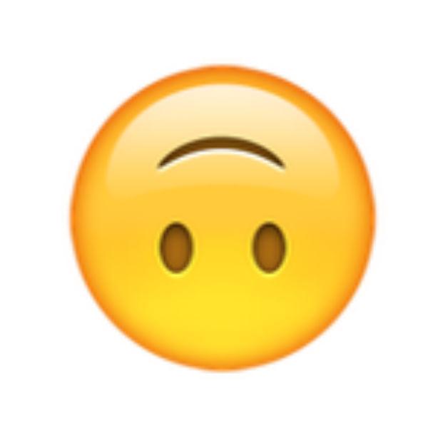 Resultado de imagem para emoji cabeça virada