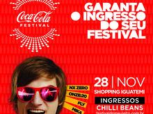 Coca-Cola Festival 2015 chega para abrir férias em Fortaleza