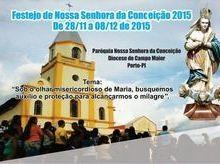 Festejos da Padroeira de Porto têm início neste final de semana; confira a programação!