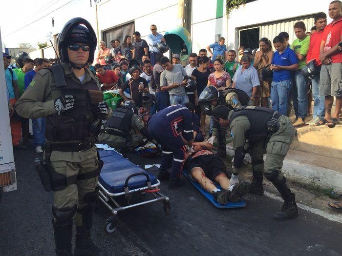 Juliano Ramalhães foi levado para o HUT, mas não resistiu e morreu
