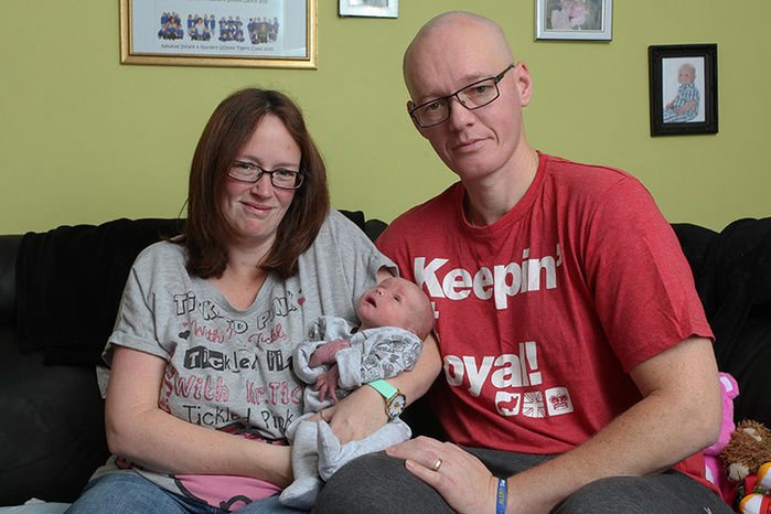 Casal não pretendia mais ter filhos quando nasceu Frankie