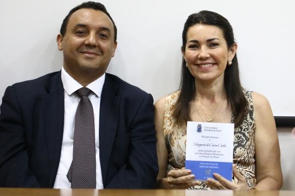 Margarete Coelho é homenageada na Universidade Estadual do Piauí  (Crédito: Divulgação Portal do Governo )
