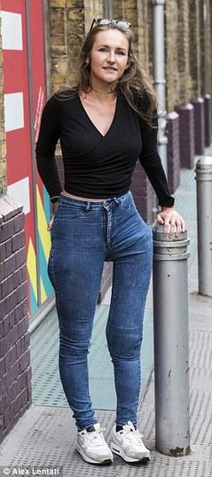 Victoria Lebrec após o acidente  (Crédito: Reprodução R7)