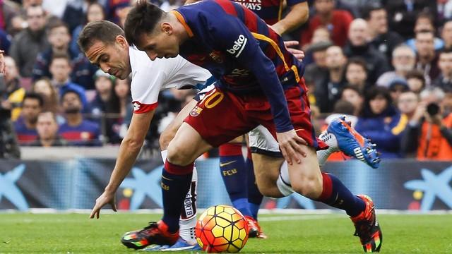 Messi em ação (Crédito: Reprodução)
