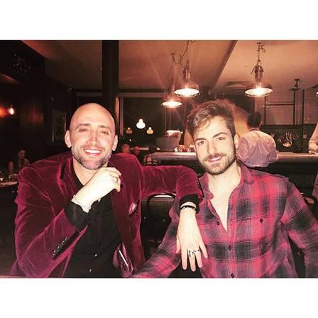 Paulo Gustavo e Thales Bretas (Crédito: Reprodução/Instagram)