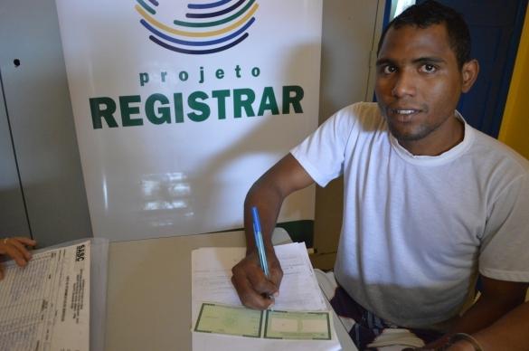 Projeto Registrar (Crédito: Ascom)