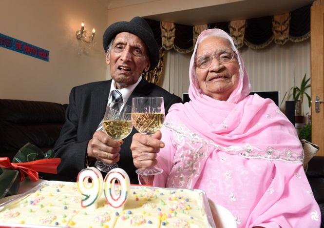 Casal completa 90 anos juntos (Crédito: Reprodução)