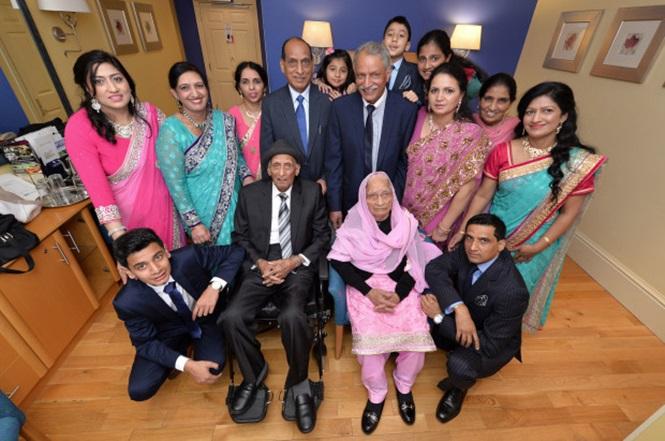 Parte da família reunida (Crédito: Reprodução)