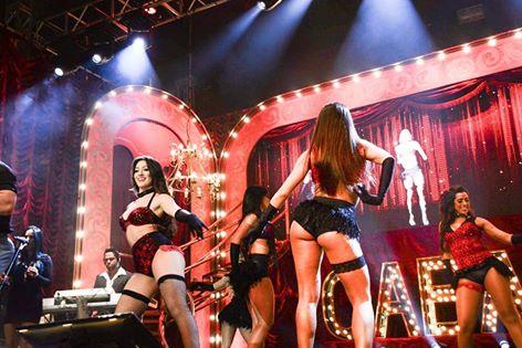 Bailarinas no projeto Cabaré (Crédito: Divulgação )