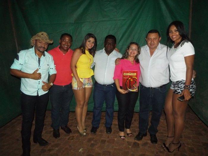 Banda Canários do Reino Juntamente com Prefeito Aldemar Neto e sua Comissão (Crédito: Dj Gustavo)