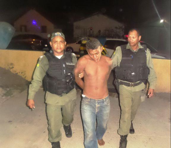 """""""Preto"""" foi capturado após uma verdadeira maratona de fuga"""