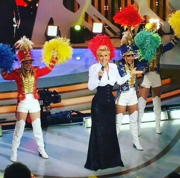 Xuxa e suas paquitas  (Crédito: Divulgação)