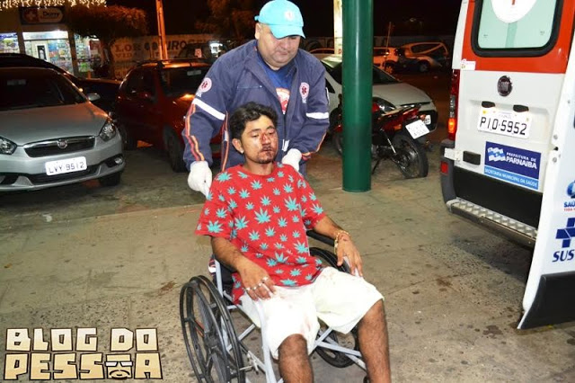 Naldo foi encaminhado para o hospital (Crédito: Reprodução)