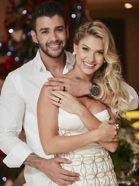 Gusttavo Lima e Andressa Suita (Crédito: Divulgação)