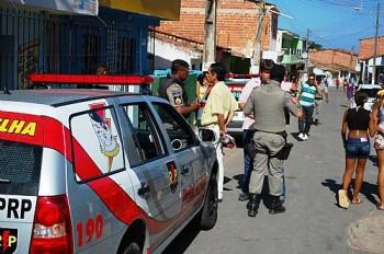 Local onde ocorreu o crime (Crédito: Railton Teixeira/Alagoas24horas)