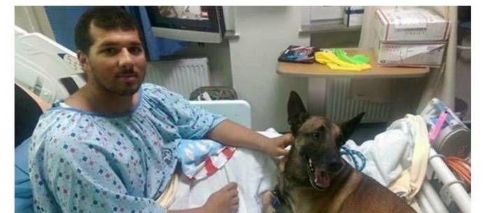 Militar e seu cão (Crédito: Reprodução)