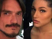 Aos 17 anos, Sasha aparece superproduzida ao lado de maquiador