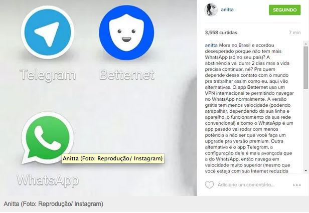 Anitta (Crédito: Reprodução/Instagram)