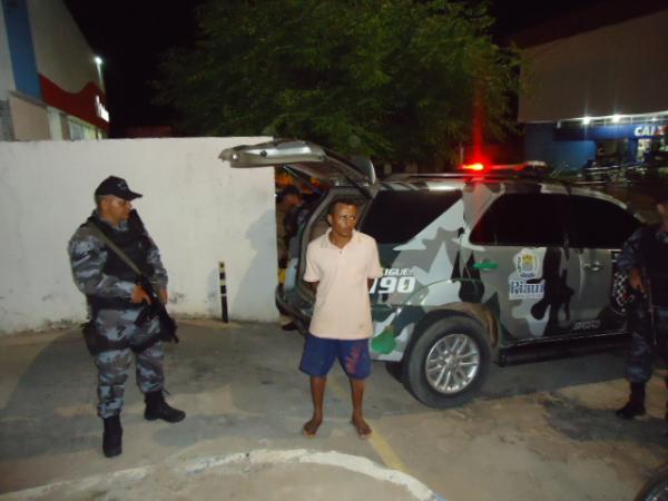 Lázaro Nogueira dos Santos Filho foi preso em Landri Sales (Crédito: FlorianoNews)