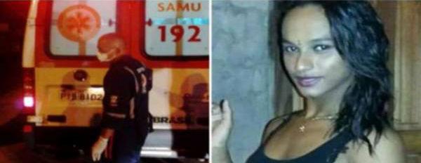 Travesti identificada apenas como Manu Santos (Crédito: Divulgação/Polícia Militar)