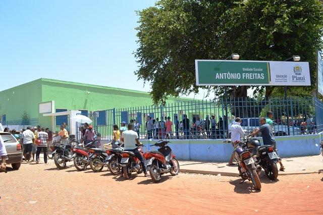 Unidade Escolar Antônio Freitas (Crédito: Reprodução)