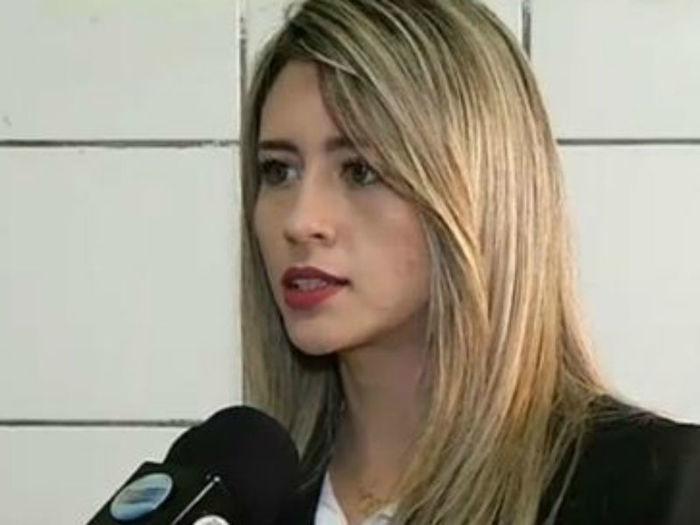 Delegada Anamelka Cadena  (Crédito: Reprodução TV Meio Norte )