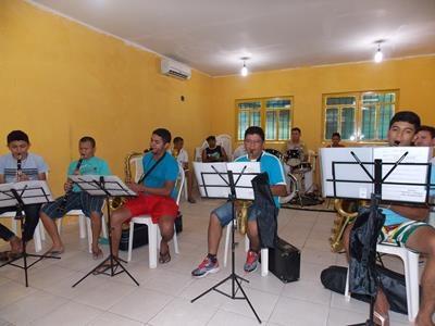 Banda Municipal de Batalha ganha novos instrumentos