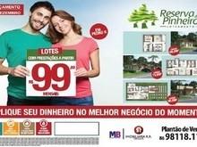 Loteamento Reserva dos Pinheiros lançamento dia 7 de dezembro, aproveite!