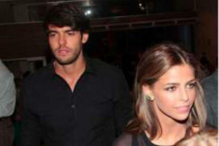 Kaká e Namorada (Crédito: Reprodução )