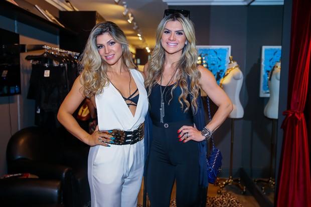 Dani Souza e Mirela Santos (Crédito: Manuela Scarpa/Brazil News)