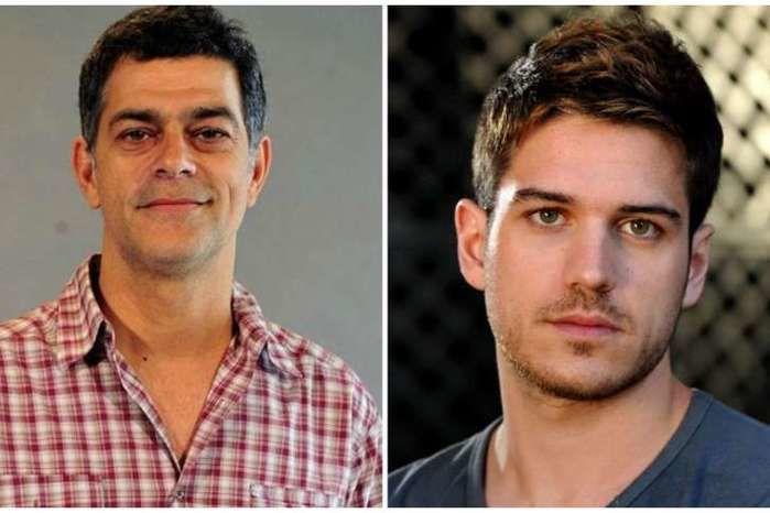 Marco Pigossi e Du Moscovis (Crédito: Divulgação)