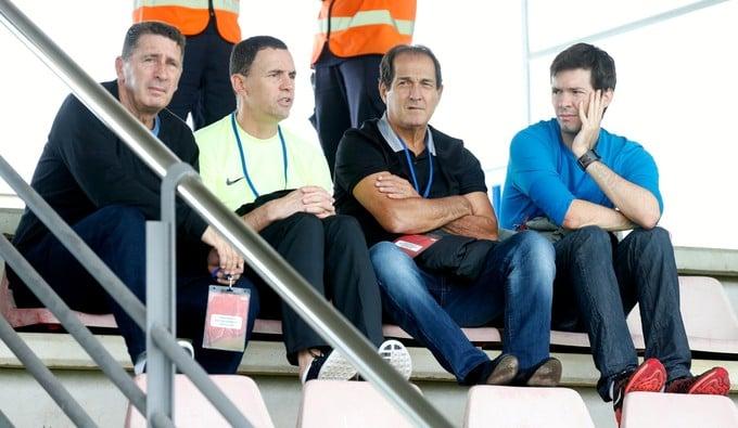Muricy Ramalho, visitou a estrutura do Barcelona (Crédito:  Site oficial do Barcelona)