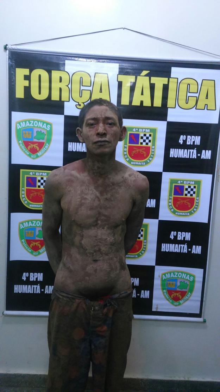 O acusado Roberto Pinheiro da Mota