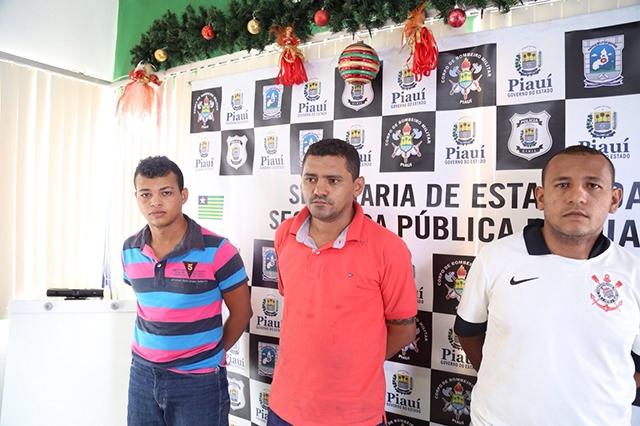Acusados presos pela Policia Civil (Crédito: Divulgação)