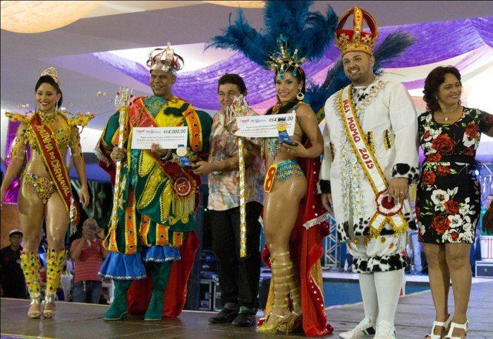 Magestades Carnaval Teresina (Crédito: Renato Bezerra )