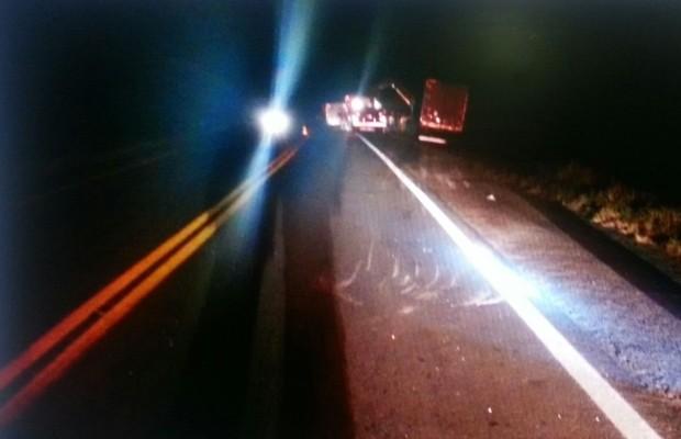 Cinco da mesma família de Corrente morrem em acidente  na BR-020, em Goiás (Crédito: Divulgação/PRF)