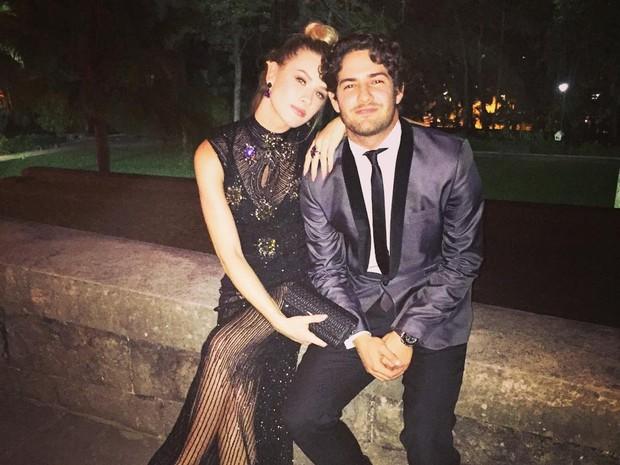 Fiorella Mattheis e Alexandre Pato (Crédito: Reprodução / Instagram)