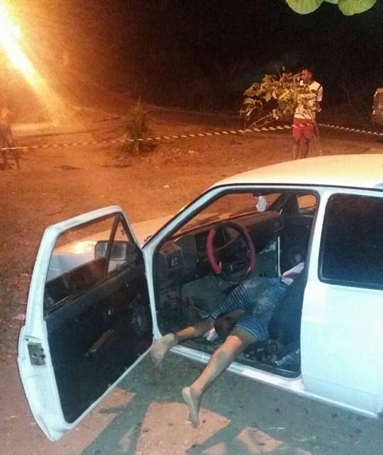 Leonildo Sousa Alves foi morto a tiros dentro de um carro