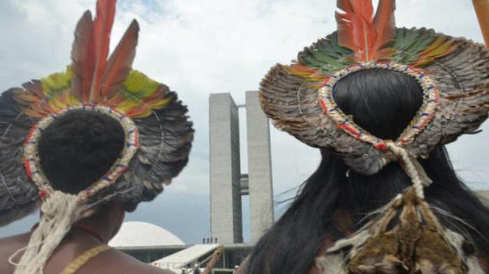 Índios que atravessaram Bering (Crédito: Divulgação )