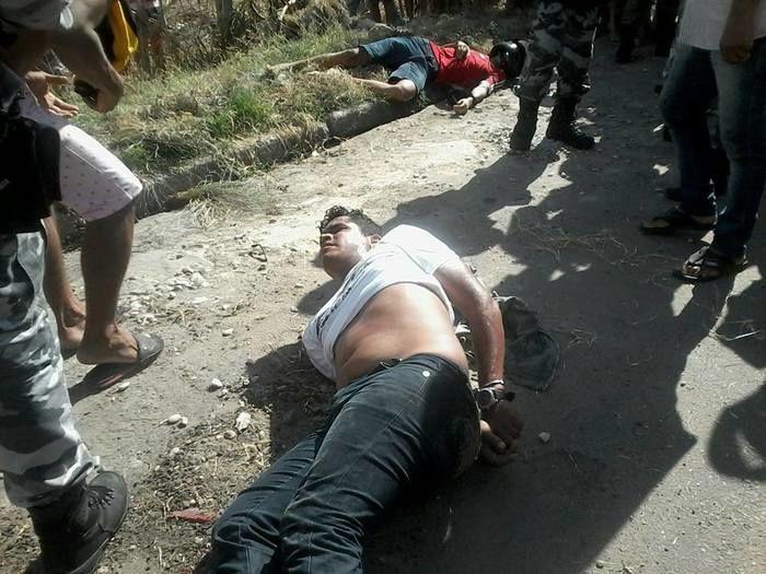 O outro foi preso e levado para Central de Flagrantes