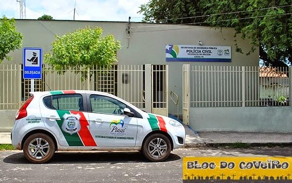 Delegacia da cidade de Cocal (Crédito: Reprodução)