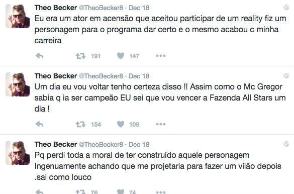 Theo Becker (Crédito: Reprodução/ Twitter)