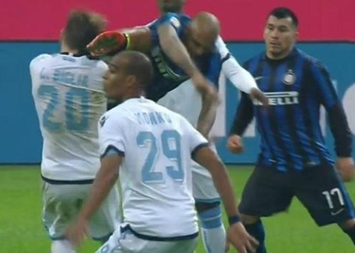 Felipe Melo é punido mais uma vez no futebol italiano