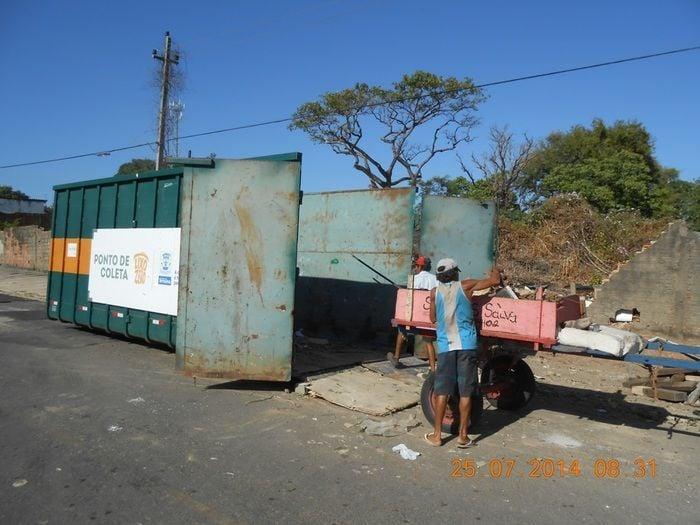 Pontos de Recebimento de Resíduos (Crédito: Ascom)