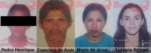 Cinco piauienses morrem após grave acidente de carro na Bahia