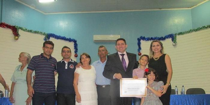 Câmara Municipal de São Félix do Piauí concede título de cidadão