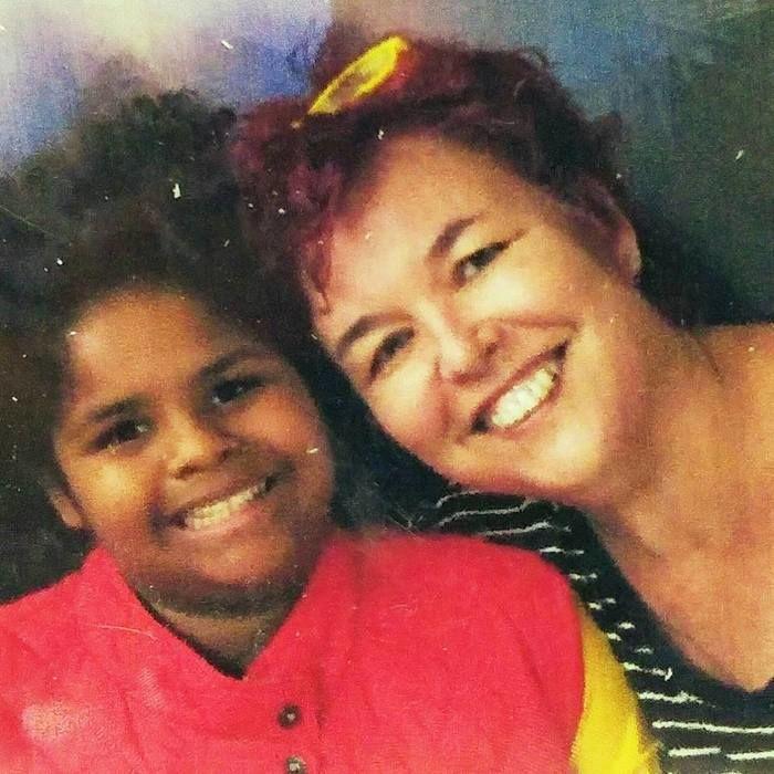 Monica e sua filha (Crédito: Reprodução)